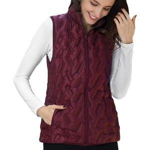 Tangerine Puffer Vest • Ladies Lightweight Vest